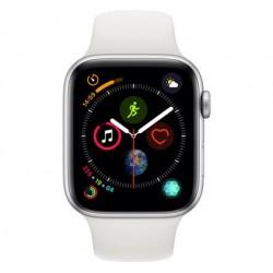 Watch Series4 44mm Zilver Aluminium / Witte Sportband Apple