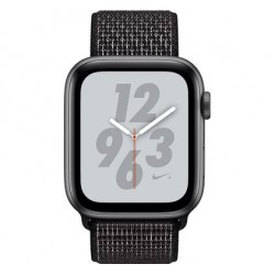 Watch Series 4 44mm Nike+ Spacegrijs Aluminium / Nylon Sportband Apple