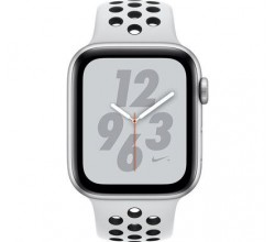Watch Series 4 44mm Nike+ Zilver Aluminium Sportband Apple