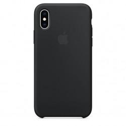 Siliconenhoesje voor iPhone XS Zwart