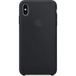 Siliconenhoesje voor iPhone XS Max Zwart