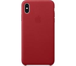 Leren hoesje voor iPhone XS Max (PRODUCT)RED Apple