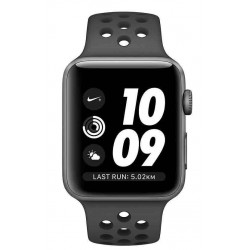 Watch Series 3 42mm Nike+ Spacegrijs Aluminium/ Zwarte Sportband