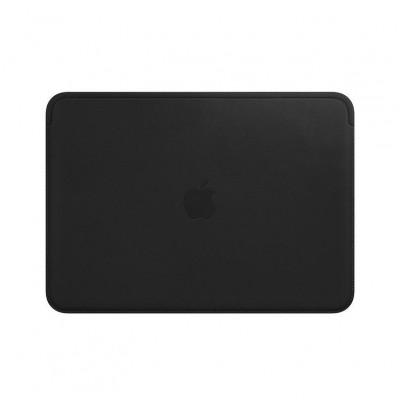 Housse en cuir pour MacBook 12 pouces - Noir Apple
