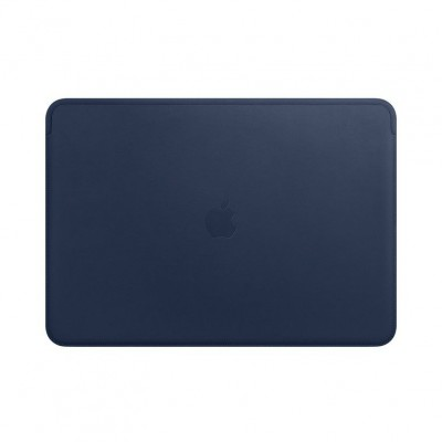 Leren Sleeve voor 13inch MacBook Pro Midnight Blue Apple