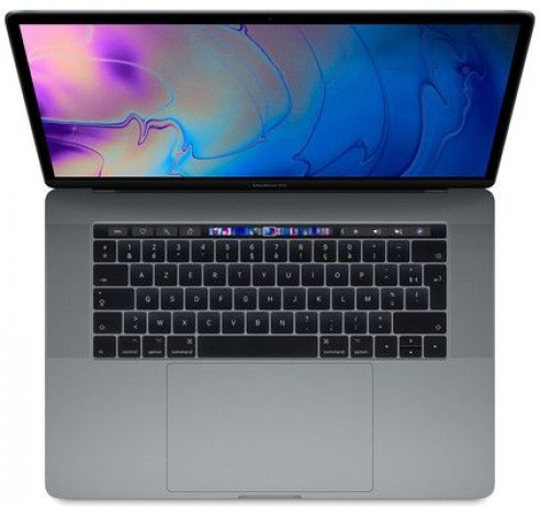15-inch MacBook Pro Touch Bar: 2.2GHz 6-core i7, 256GB - Spacegrijs (2018)  Apple