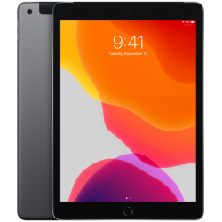 10,2-inch iPad Wi-Fi + 4G 128GB Spacegrijs (2019) Apple