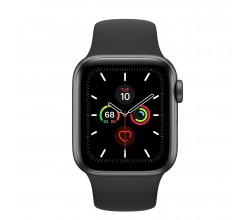 Watch Series 5 40mm Spacegrijs/Zwart Apple