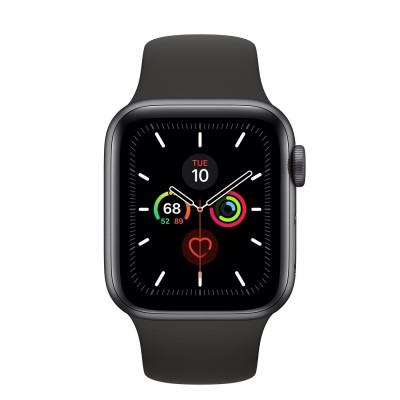 Watch Series 5 40mm Spacegrijs/Zwart Apple