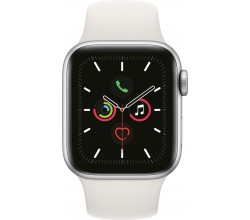 Watch Series 5 40mm Zilver/Wit Apple