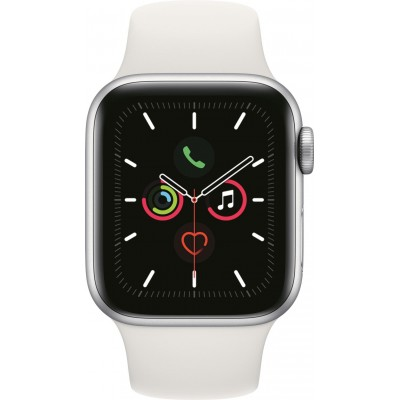 Watch Series 5 40mm Zilver/Wit Apple