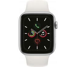 Watch Series 5 44mm Zilver/Wit Apple