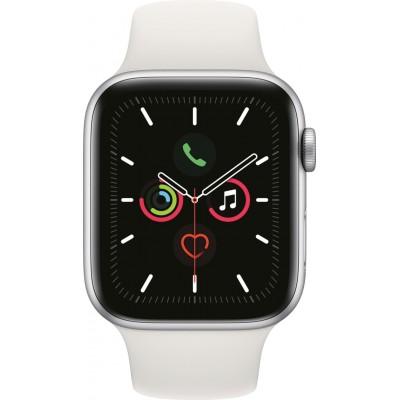 Watch Series 5 44mm Zilver/Wit Apple