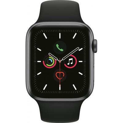 Watch Series 5 44mm Spacegrijs/Zwart Apple
