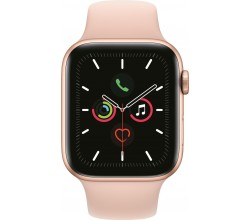 Watch Series 5 44mm Goud/Roze Apple