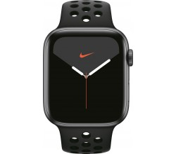 Watch Nike Series 5 44mm Spacegrijs/Zwart Apple