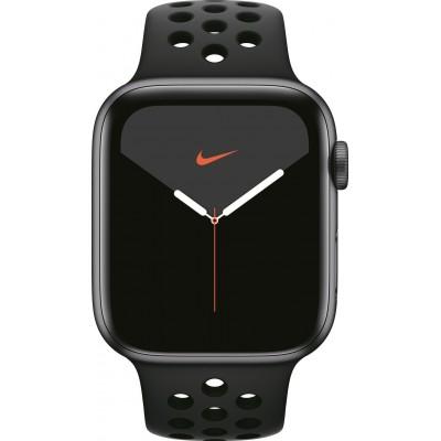 Watch Nike Series 5 44mm Spacegrijs/Zwart Apple