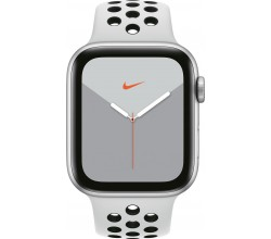 Watch Nike Series 5 44mm Zilver/Wit Apple