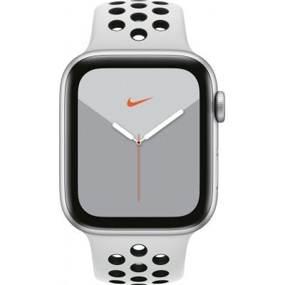 Watch Nike Series 5 44mm Zilver/Wit Apple