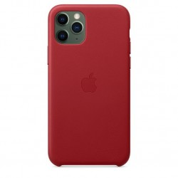 iPhone 11 Pro Leather Case Rood Apple