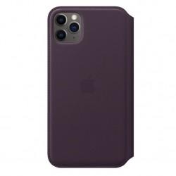 iPhone 11 Pro Max Leather Folio Aubergine Apple