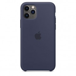 iPhone 11 Pro Silicone Case Middernachtblauw Apple