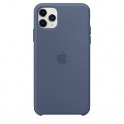iPhone 11 Pro Max Silicone Case Alaska Blauw Apple
