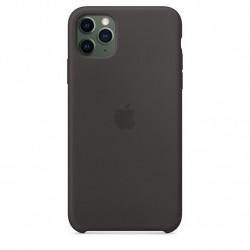 iPhone 11 Pro Max Silicone Case Zwart Apple