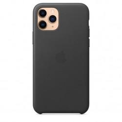iPhone 11 Pro Leather Case Zwart Apple