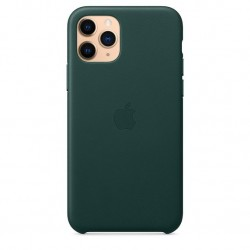 iPhone 11 Pro Leather Case Bosgroen Apple