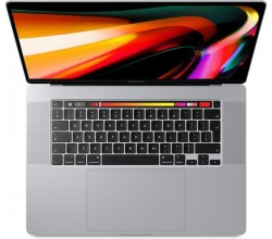 16-inch MacBook Pro Touch Bar MVVL2FN/A (2019) Zilver Apple
