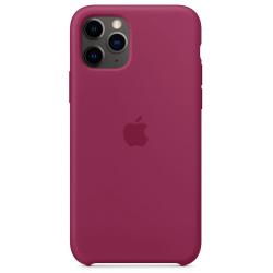 Siliconenhoesje voor iPhone 11 Pro Granaatappel Apple