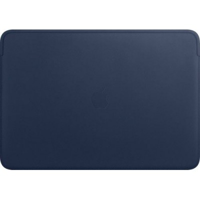 Leather Sleeve for 16-inch MacBook Pro – Midnight Blue Apple