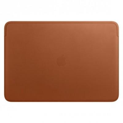 Leren Sleeve voor 16inch MacBook Pro - Zadelbruin Apple