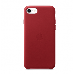 iPhoneSE Leather Case (Product)Red  Apple