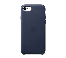 iPhone SE Leather Case Midnighy Blue Apple