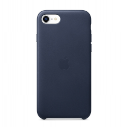 iPhoneSE Leather Case Midnighy Blue  Apple