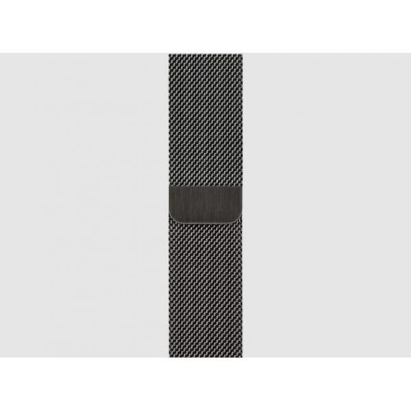 40mm Graphite Milanese Loop
