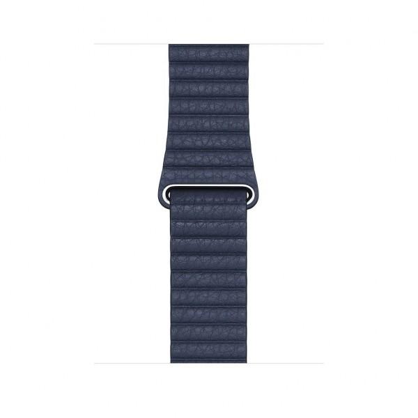44mm Diver Blue Leather Loop Medium