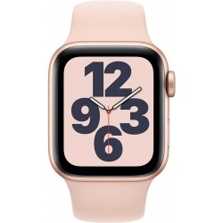 Watch SE 40mm Goud Aluminium Roze Sportband Apple