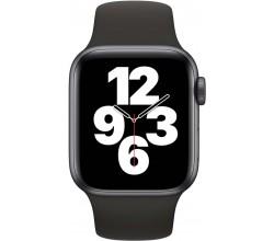 Watch SE 40mm Spacegrijs Aluminium Zwarte Sportband Apple