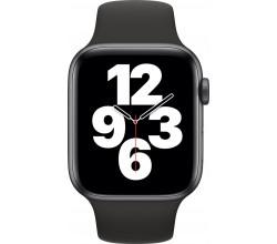 Watch SE 44mm Spacegrijs Aluminium Zwarte Sportband Apple