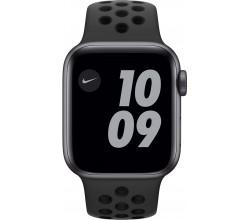 Watch Nike SE 40mm Spacegrijs Aluminium Zwarte Sportband Apple