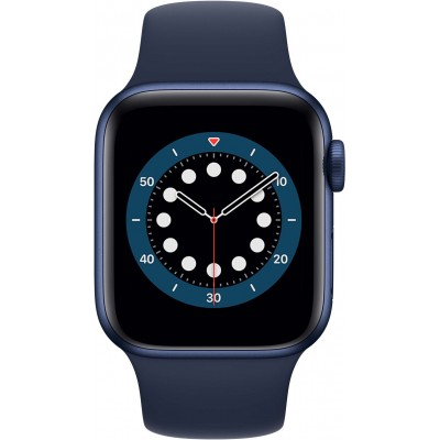 Watch Series 6 40mm Aluminium Bleu Bracelet Bleu Apple