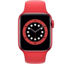Watch Series 6 40mm RED Aluminium RED Sportband Apple