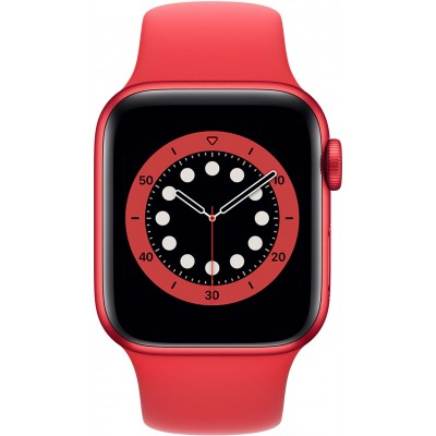 Watch Series 6 40 mm Aluminium RED Bracelet Sport RED Apple