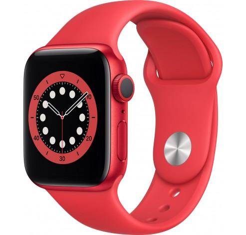 Watch Series 6 40mm RED Aluminium RED Sportband  Apple
