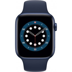 Watch Series 6 44mm Blauw Aluminium Blauwe Sportband