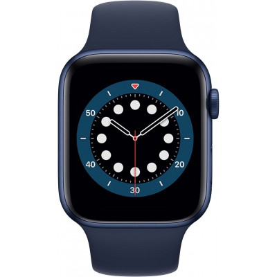 Watch Series 6 44 mm Aluminium Bleu Bracelet Sport Bleu Apple