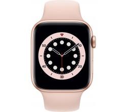 Watch Series 6 44mm Goud Aluminium Roze Sportband Apple